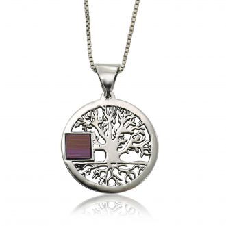 NANO BIBLE TREE OF LIFE NECKLACE   Old Hebrew Bible (Tanakh)