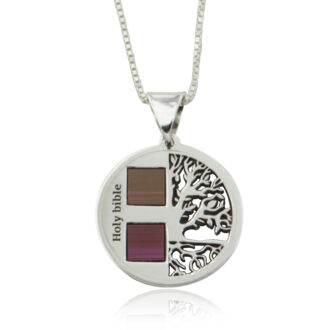 ETERNITY TREE OF LIFE NECKLACE HOLY BIBLE New Testament
